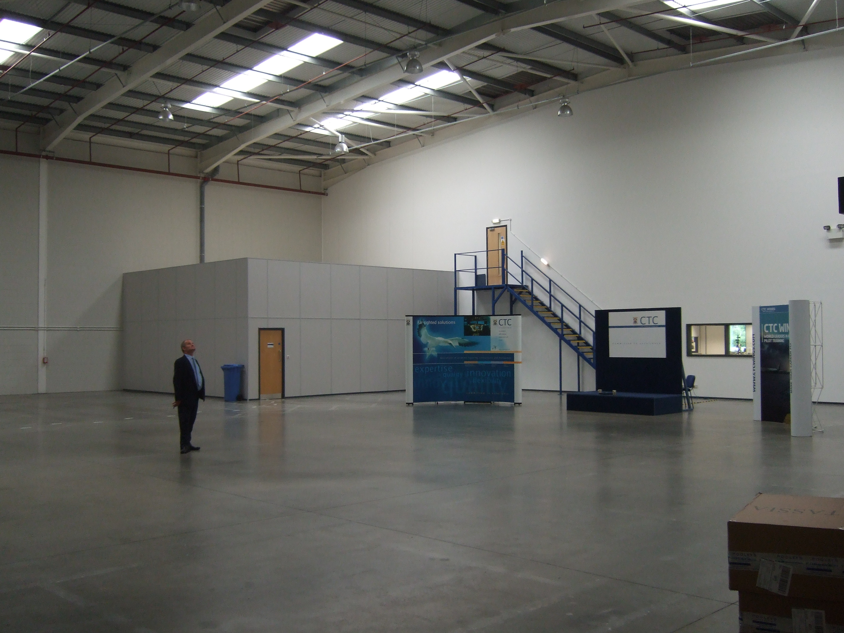 CTC warehouse before