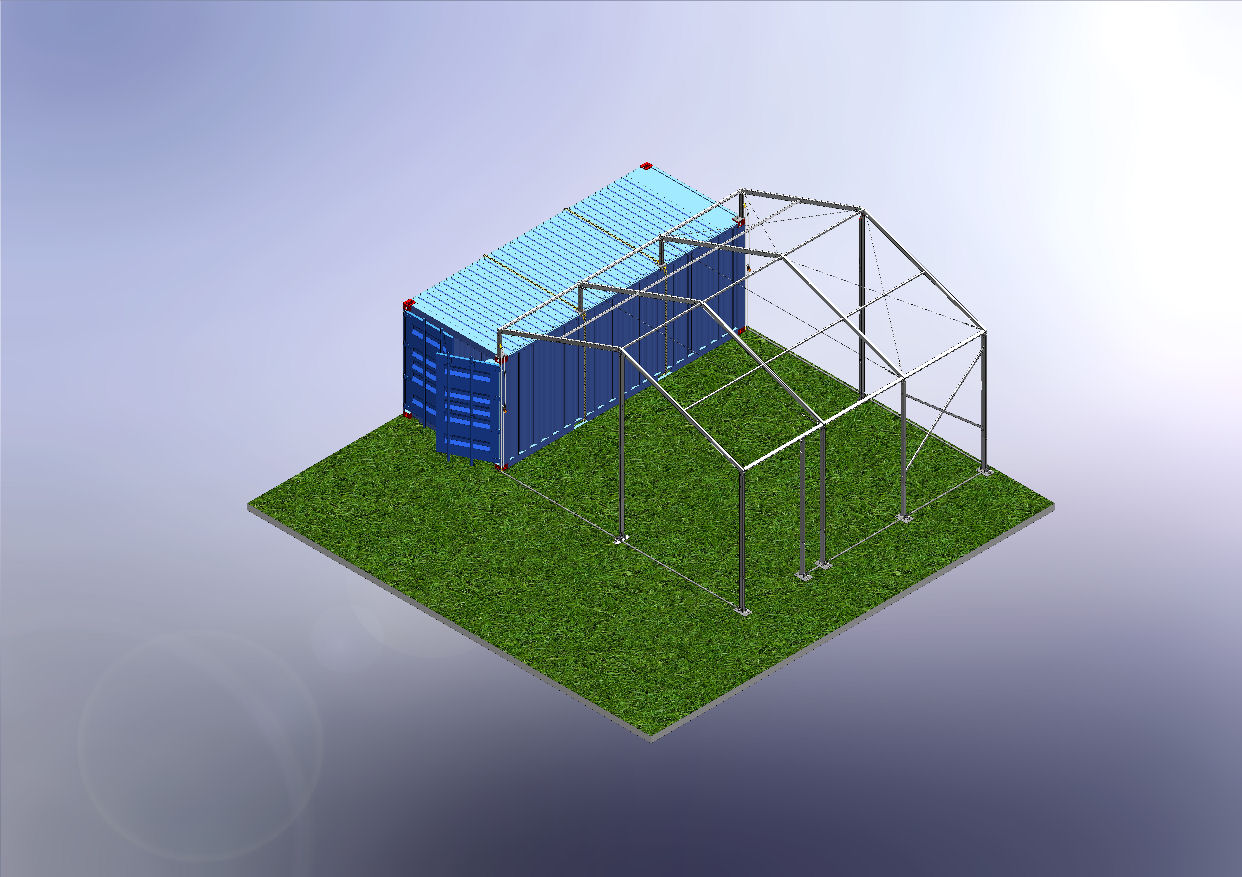 Container Shelter Plan