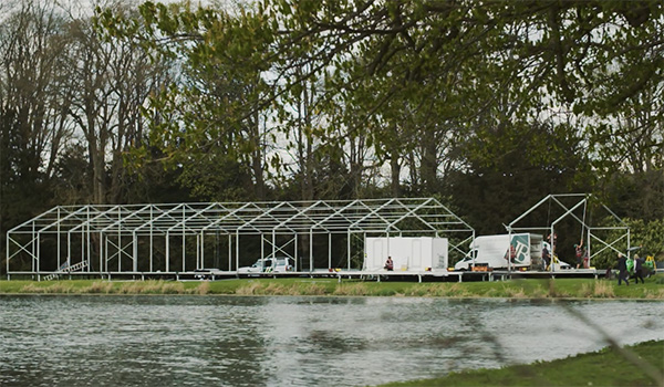 <b>Joseph Benjamin Marquees</b><br>Building the Marquee Frame