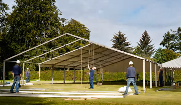 <b>North of Scotland Marquees</b><br>12m x 33m and 9m x 18m Coverspan Marquees