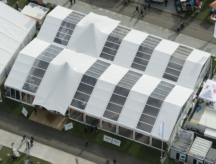 Showmans Show 2019 Aerial photo