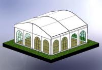 6m Curved Roof 3D