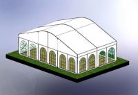 9m Curved Roof 3D