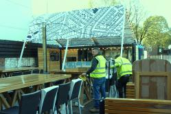 Bespoke Canopy Structure for Container - Case Study Available