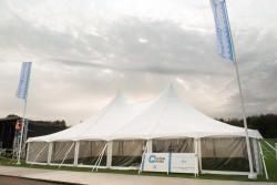 Outside the Tensile Traditional Marquee