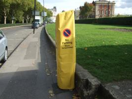 Local authority parking metre cover