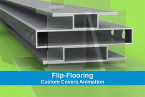 Custom Covers Flooring Animation