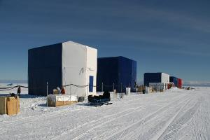 5 south pole pods in a row