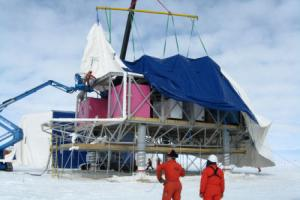 Anrtarctic BAS cover installation