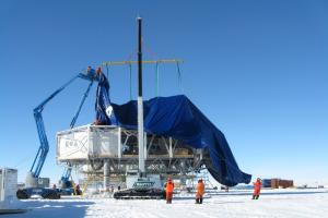 Installation of Antarctic Cover