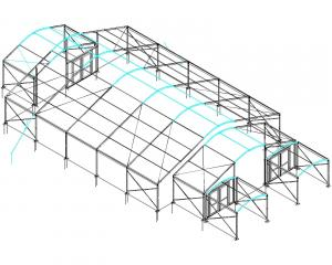 Curved roof schematic
