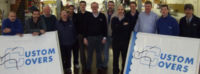Custom Covers Staff taking the Movember challenge