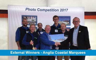 Award Giving - Anglia Coastal