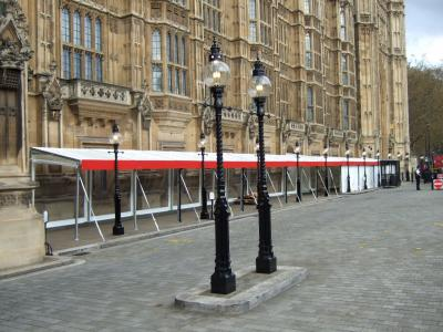 House of Parliament awning