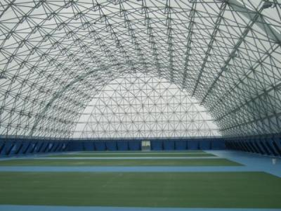 tennis court cover installation finish interior