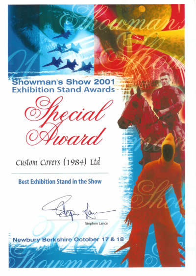 Showman's Show 2001 Best in Show