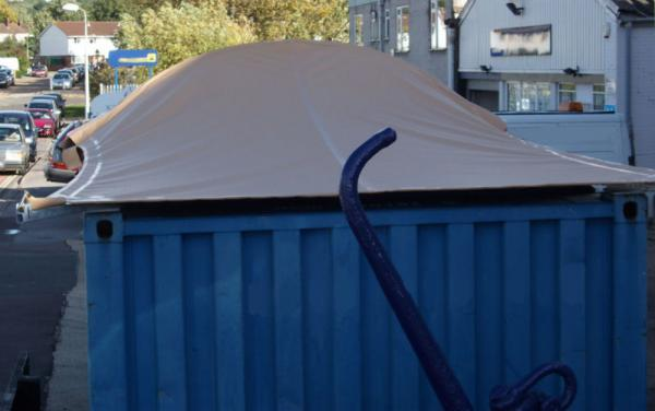 Container Shade cover 02