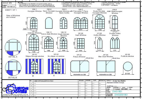 PVC Window Choices