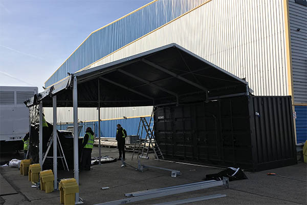 Imagination Europe Container Canopy - Case Study Available