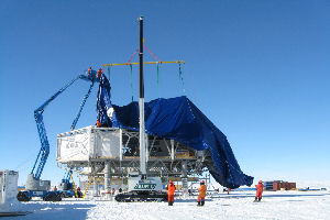 BAS Installation of covers at the South Pole