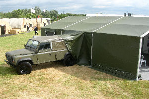 MUS with Landrover attachment